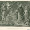 Elijah, Ahab, and Jezebel in Naboth's vineyard