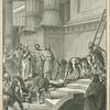 Hezekiah cleanses the Temple