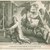 Der Herr verkündet dem Knaben Samuel Eli's Tod und seines Hauses Untergang