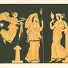 Nike, Hera and Aphrodite.