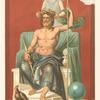 Jupiter couronné par la Victoire.