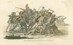 Combattimento per cadavere di Patroclo.