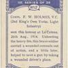 Corpl F. W. Holmes, V.C.
