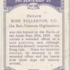 Pte. Ross Tollerton, V.C.
