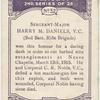 Sergeant-major Harry M. Daniels, V.C.