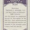 Bandsman Thomas E. Rendle, V.C.