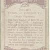 2nd. Lieut. Fredk. H. Johnson, V.C.