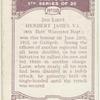 2nd-Lieut. Herbet James, V.C.