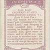 Temp. Lieut. Geoffrey St. Geo Shillington Cather, V.C.
