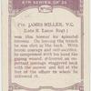Pte. James Miller, V.C.