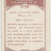 John Travers Cornwell, V.C.