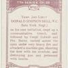 Temp. 2nd-Lieut. Donal Simpson Bell, V.C.
