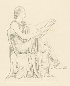 Calliope, muse of epic poetry. Digital ID: 1623534. New York Public Library