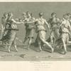 The dance of Apollo and the Muses