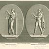 Terpsichore, or Erato, and Apollo, both with lyres