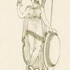 Minerva, from a fictile vase.
