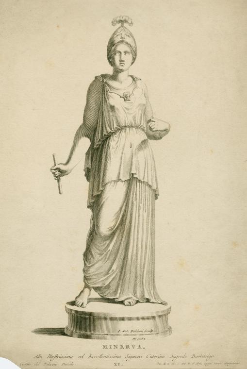 Fascinating Historical Picture of Giovanni Antonio Faldoni in 1743
