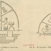 Lit assyrien à l'intérieur d'une tente ; Lit assyrien--D'après un bas-relief de Kouyungik.