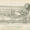 Lit romain cubiculaire.