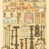 Maquinas de guerra, muebles y utensilios de los Griegos.