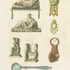 Letti, suppellettili, troni &c.