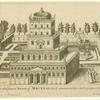 The house and famed turret of Maecenas which commanded the whole prospect of Rome