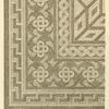 Mosaikfussboden aus der Residenz des Constantin in York.