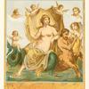 Triomphe d'Amphitrite--Peinture de Pompéi.