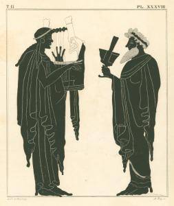 [Apollo and Dionysus.]