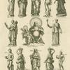 Various images of Ceres, with Triptolemus and canephores.