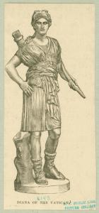 Diana of the Vatican. Digital ID: 1623780. New York Public Library