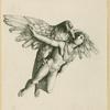 Eagle flying with Ganymede