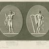 Hercules, hero of Olympic games; Hercules in the gymnasium.