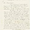Autograph endorsement on verso of A.L.S., Dec 21, 1864, from J. F. Farnsworth to President Lincoln