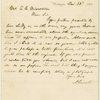Letter to E. C. Middleton