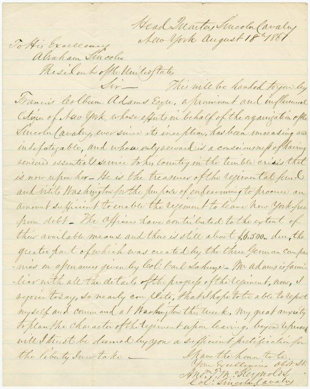 on 8/22/1861