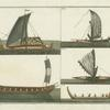 Phoenician ships.