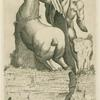 Bucefalus, et Alexander Magnus opus Praxitelis ante aedes Car: Ferrerij