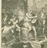 Homeros ergötzt die fremden Schiffer durch seine Gesänge