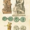 Ancient Phoenician sculpture and coins.