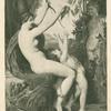 Nymphe et Bacchus.