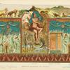 Orpheus charming the animals.
