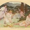 Orpheus slain by Bacchantes.