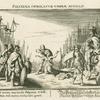 Polyxena immolatur umbrae Achillis.