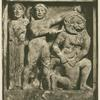 Perseus beheading Medusa.
