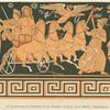 Die Hinabführung der Persephone in die Unterwelt; Abschied von der Mutter