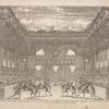 Decoration de Theatre du ballet de Thetis represente en machine au Petit Bourbon devant leurs Majesté de l'invention de Jacq. Torelli Italien