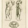 Masks of the Roman theater