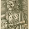 Roman comic mask.