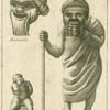 Roman comic actors in masks.